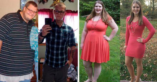 15 Personas que bajaron tanto de peso que quedaron irreconocibles