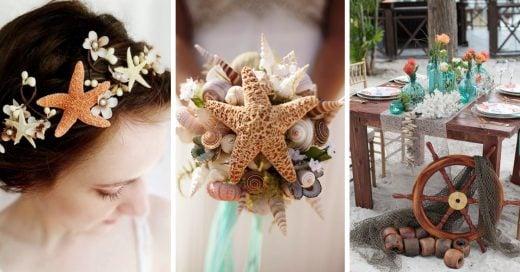 15 Ideas de bodas inspiradas en La Sirenita