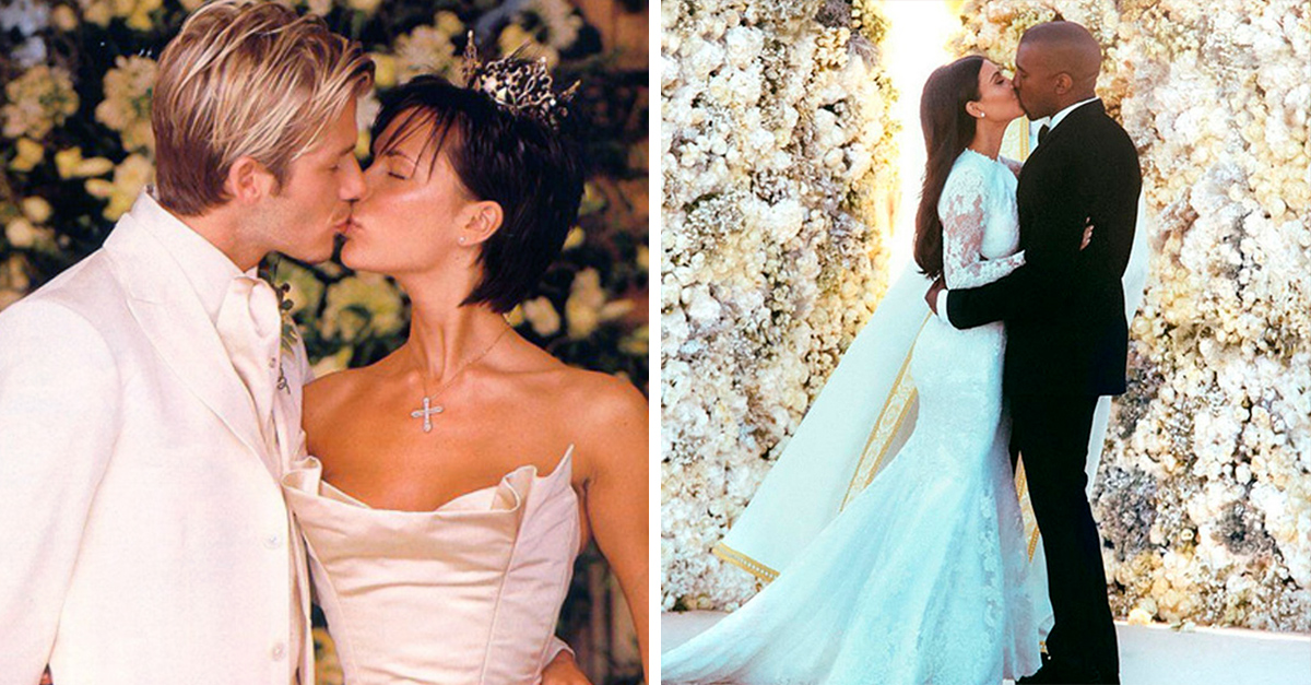 15 Datos de las bodas de los famosos que te causarán mucha envidia