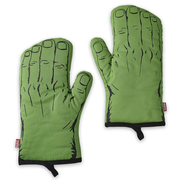 guantes de cocina de hulk