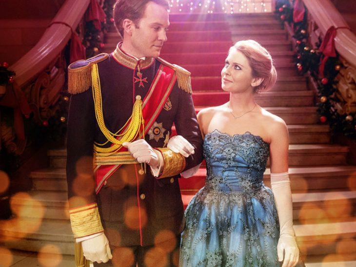 portada de la película Un príncipe de Navidad: la boda real