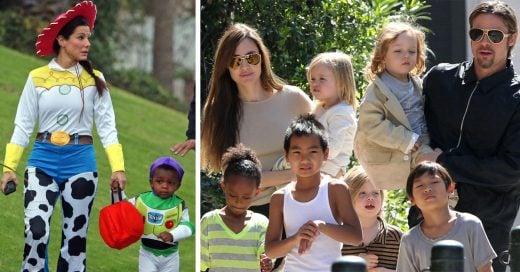 15 Celebridades que adoptaron a sus hijos, son las familias más felices de Hollywood