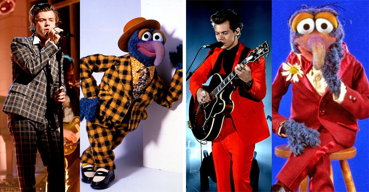 Internet cree que Harry Styles se viste como Gonzo