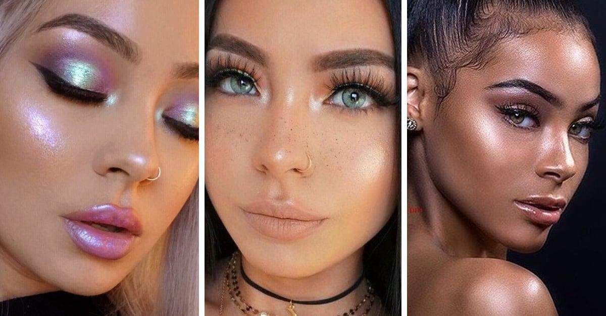 4 Tipos de iluminadores para agregar a tu rutina de maquillaje según tu color de piel