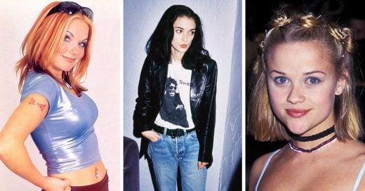 11 Tendencias a las que TODA chica 'cool' de los 90 se unió