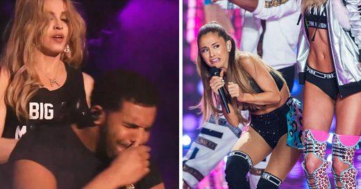 17 Momentos súper incómodos que vivieron las celebridades junto a otras celebridades