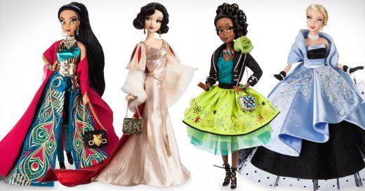 Las princesa vuelven en edición limitada y vestidas para la alfombra roja