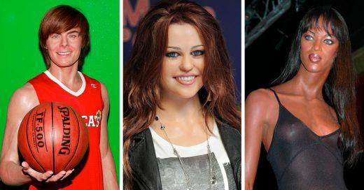15 De los muñecos de cera más extraños de las celebridades
