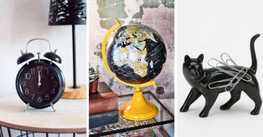 24 Accesorios negros para que le des a tu casa un toque divertido y misterioso