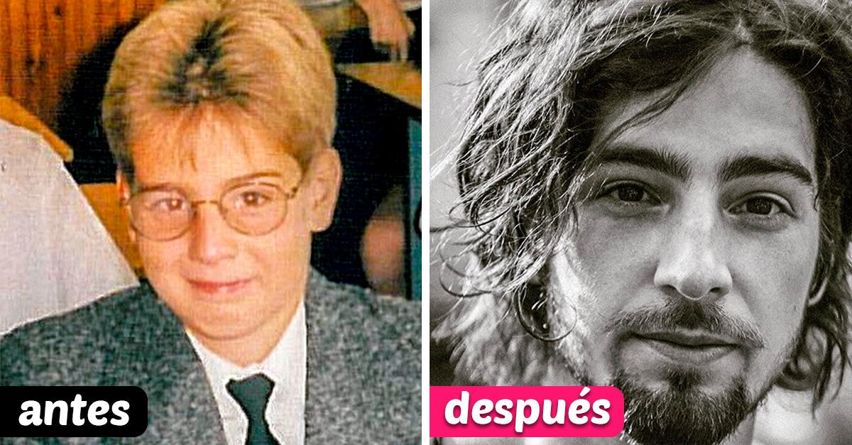 13 Personas que dejaron de ser el patito feo para convertirse en un hermoso cisne