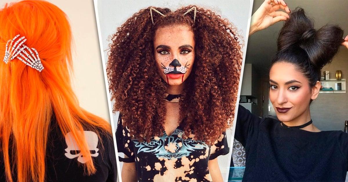 14 Terroríficos peinados que solo las chicas atrevidas usarían en Halloween