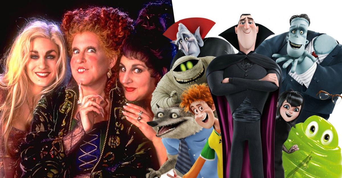15 Películas de terror para niños que nos encantan a los adultos