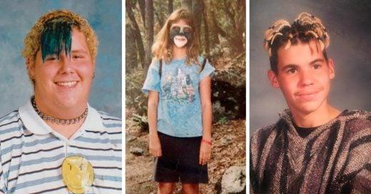 22 Usuarios comparten sus PEORES fotos de la adolescencia y las describen la forma más divertida