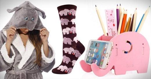 15 Productos de elefantes para cualquiera que los adore
