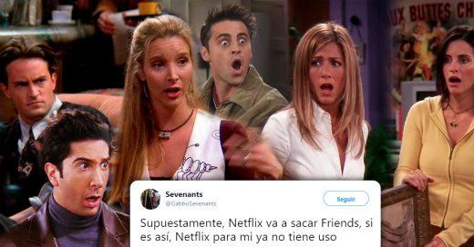 Netflix podría retirar de su catálogo a la serie Friends