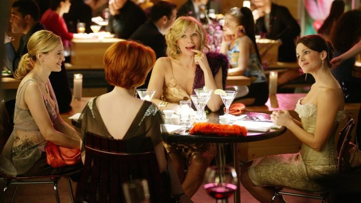 Escena de sex and the city chicas hablando