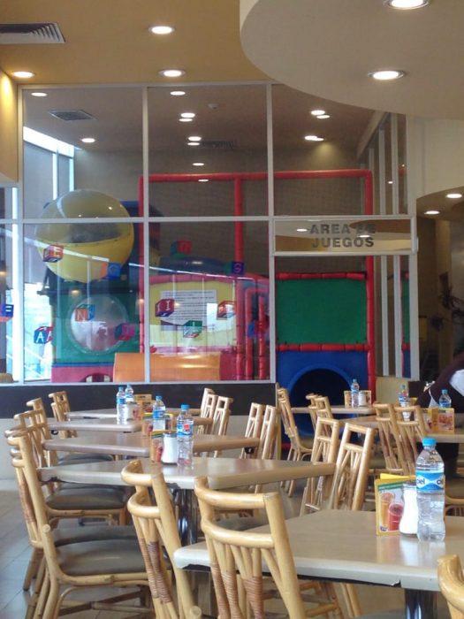 Restaurante vips con juegos infantiles