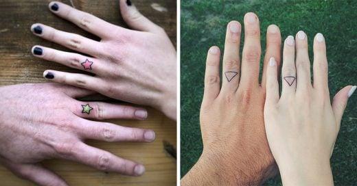 15 Tatuajes para remplazar tu anillo de bodas