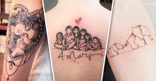 24 Tatuajes para representar el amor de madre a hija