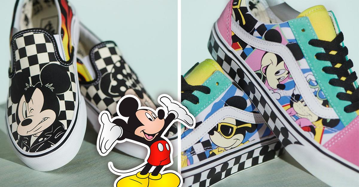 Vans y Disney lanzan increíble colección de tenis inspirada en el ratón más querido: ¡Mickey Mouse!