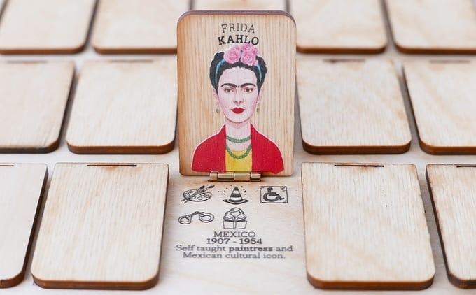 Juego de mesa sobre mujeres ilustres