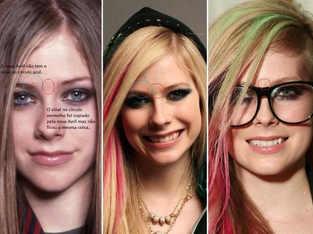 mujeres rubias con cabello rosa y verde y lentes