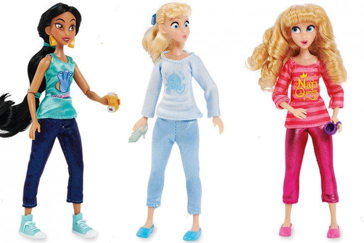 muñecas barbie de princesas jazmín cenicienta aurora