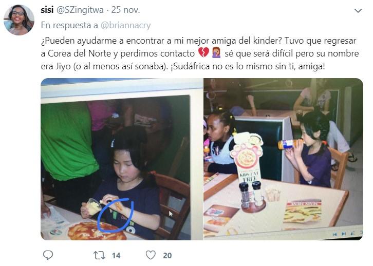 Amigas de la infancia se reencuentran después de 12 años gracias a Twitter