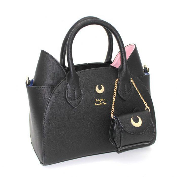 Bolsa de mano inspirada en la caricatura de Sailor Moon