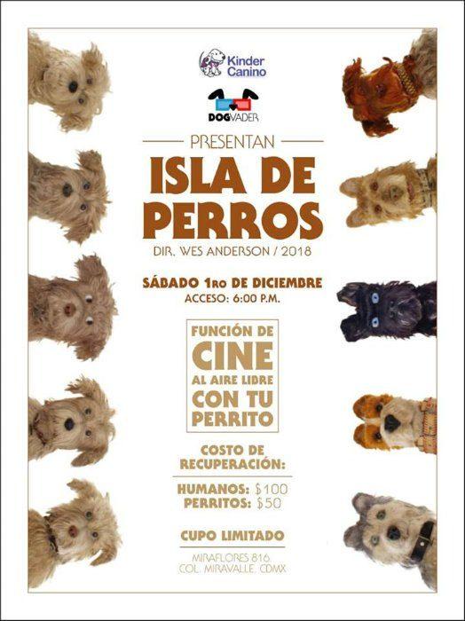 cartel película Isla de Perros