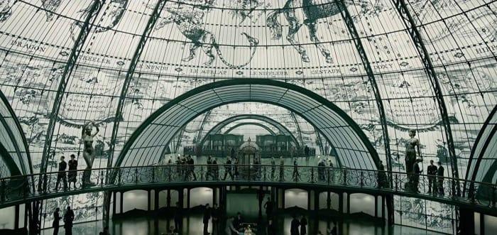 oficinas con cúpula de cristal