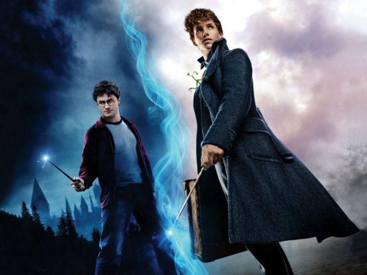 Poster promocional de Harry Potter y Animales Fantásticos