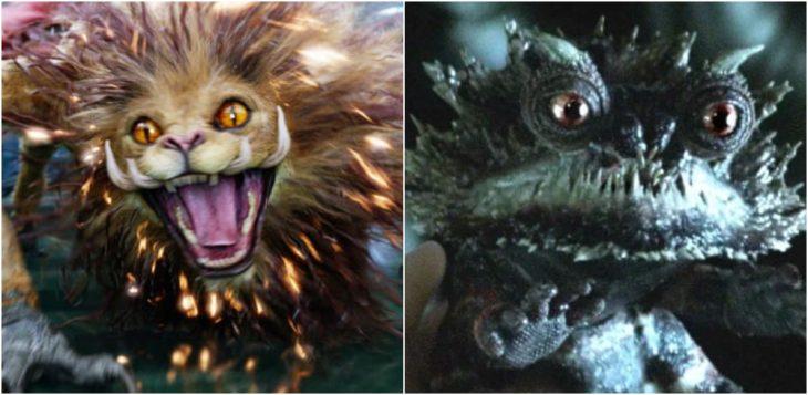 criaturas mágicas de la cinta Animales Fantásticos