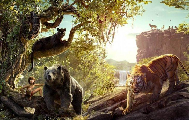 Escena de la película El libro de la selva 2016