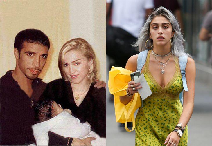 Fotografía de hija de Madonna antes y después