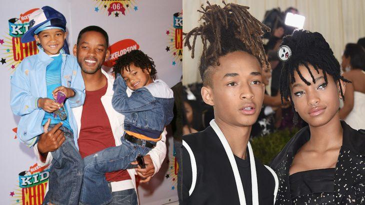Hijos de Will Smith antes y después