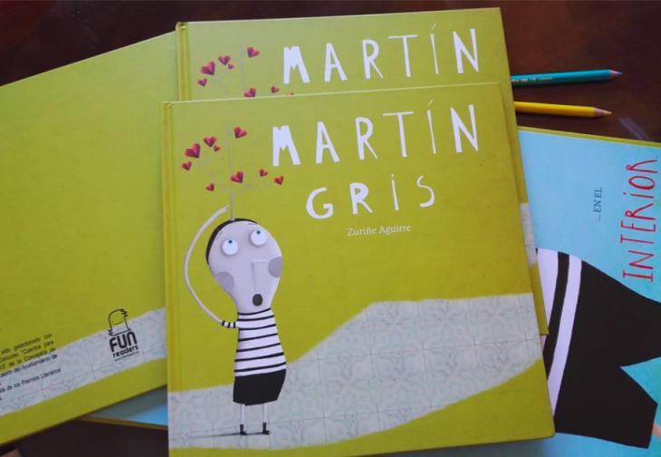 portada del libro Martín Gris