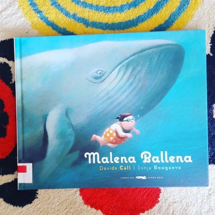portada del libro Malena Ballena