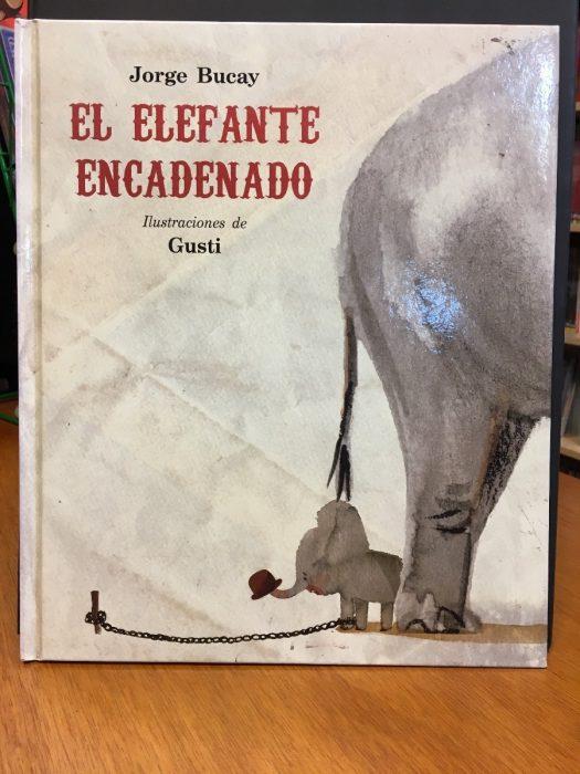 portada del libro El elefante encadenado