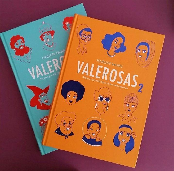 portada del libro valerosas 1 y 2