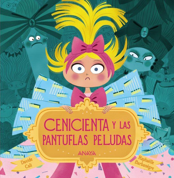 portada del libro Cenicienta y las pantuflas peludas
