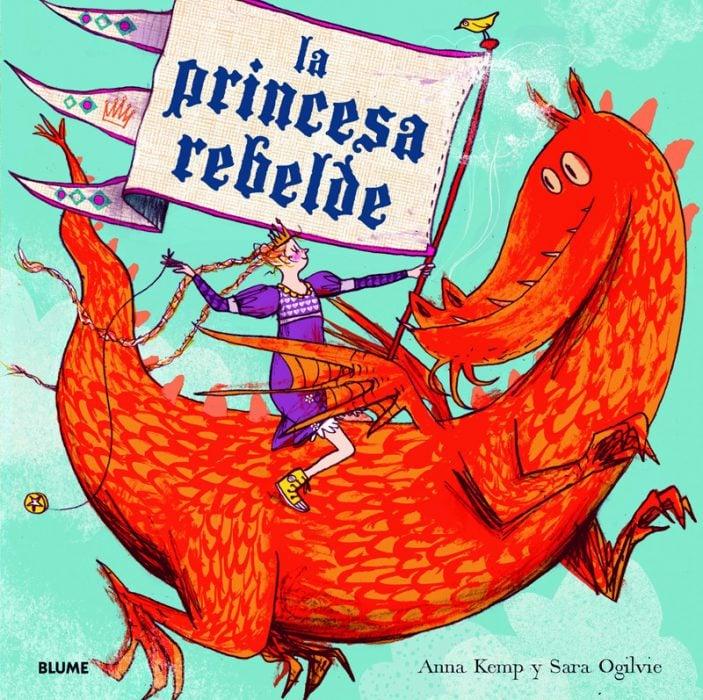 portada del libro La princesa rebelde