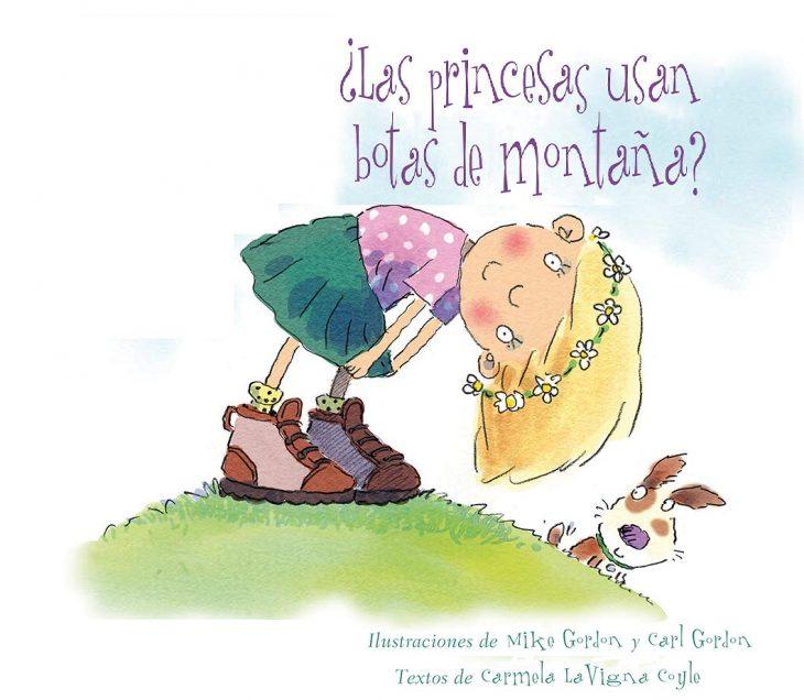 portada del libro ¿las princesas usan botas de montaña?