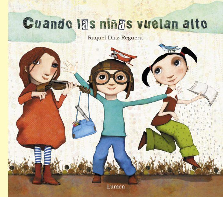 portada del libro Cuando las niñas vuelan alto
