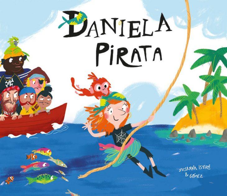 portada del libro Daniela pirata