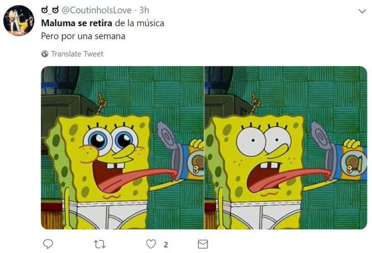 Reacciones de Twitter ante el retiro de Maluma