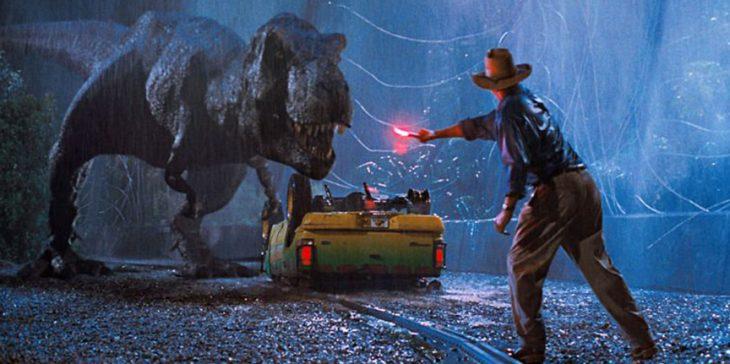 escena de la película Jurassic Park