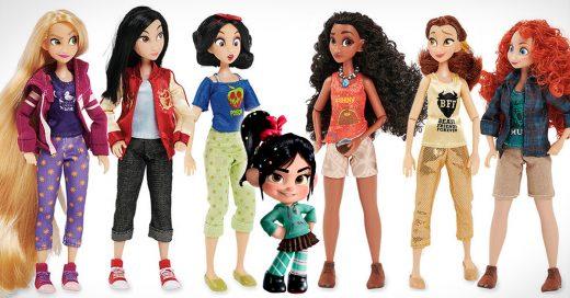 Ralph rompe el Internet lanza colección de princesas Disney con su nuevo look millennial