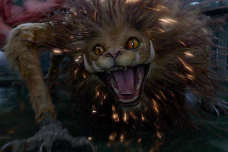 Escena de la película Animales Fantásticos 2