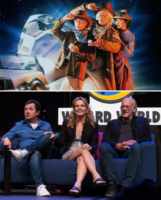 Elenco de la película volver al futuro reunidos antes y después